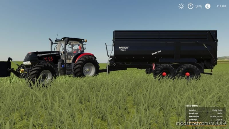 Krampe Bandit 750 V1.6 for Farming Simulator 19