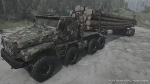 "Ural ""Alligator"" Truck V18.12.19 for MudRunner"