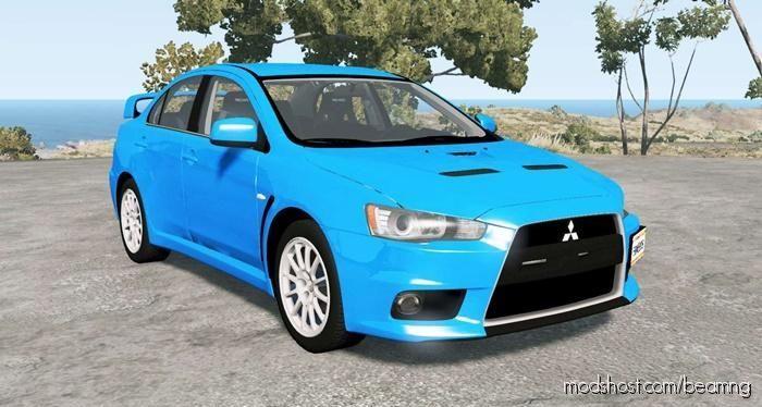 Mitsubishi Lancer Evolution X GSR (CZ4A) for BeamNG.drive