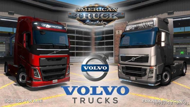 Volvo FH16 Trucks Mod V6.0 for American Truck Simulator