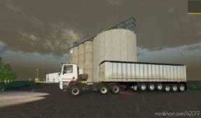 6 Axle Dump Trailer for Farming Simulator 19