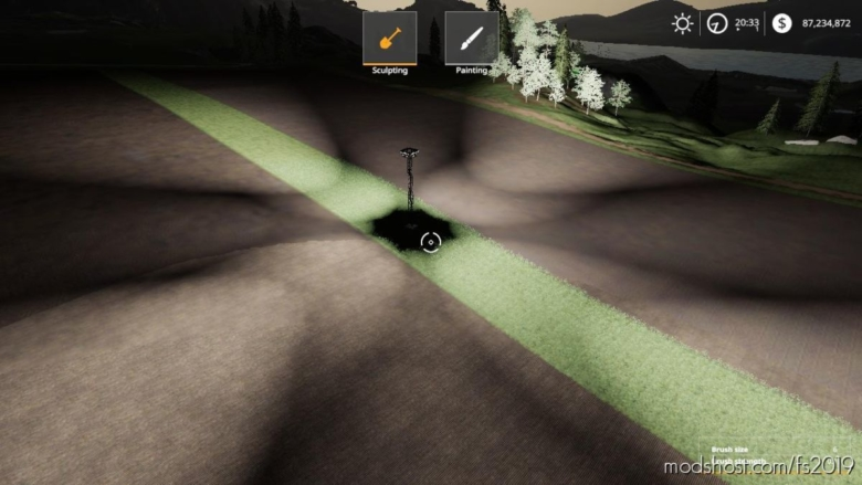 360° Flood Light for Farming Simulator 19