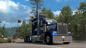 Kenworth W900B [1.38] for Euro Truck Simulator 2