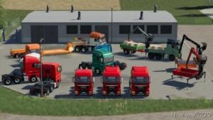 MAN TGX Semi-Truck Pack for Farming Simulator 19