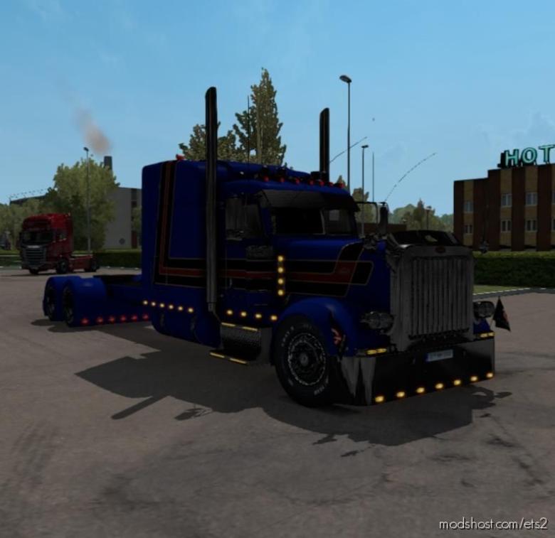 Peterbilt 389 Custom [1.38] for Euro Truck Simulator 2