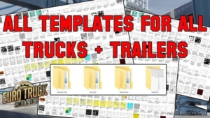 ALL Template (Trucks + Trailers) Update [1.38.X] for Euro Truck Simulator 2