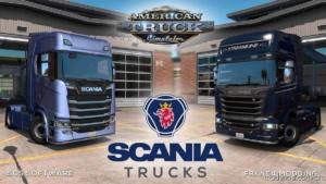 Scania Trucks Mod V4.0 for American Truck Simulator