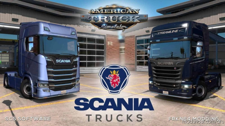 Scania Trucks Mod V4.0 for American Truck Simulator