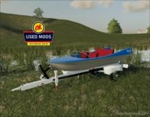 Retro Boat – Liquid Transport – Floats OK Model II for Farming Simulator 19