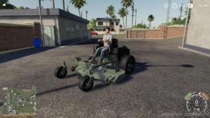 Scag And Bobcat Zero Turn Mower for Farming Simulator 19