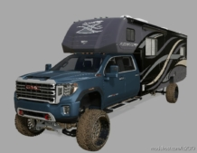 2020 GMC 2500 Camper Edition for Farming Simulator 19