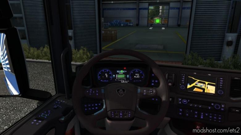 Backlights for Euro Truck Simulator 2