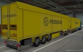 Skin Kraker Walkingfloor Prosegur [1.38] for Euro Truck Simulator 2