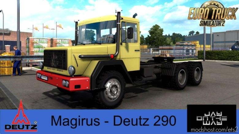 Magirus Deutz 290 05.09.2020 [1.38] for Euro Truck Simulator 2