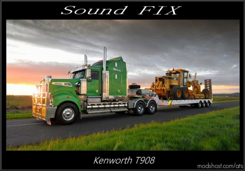 Sound FIX For Kenworth T908 V1.1 for American Truck Simulator