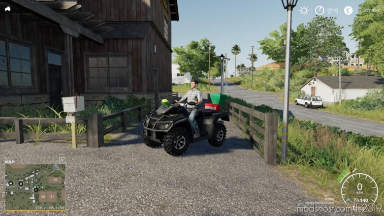 Lizard Motorbike for Farming Simulator 19
