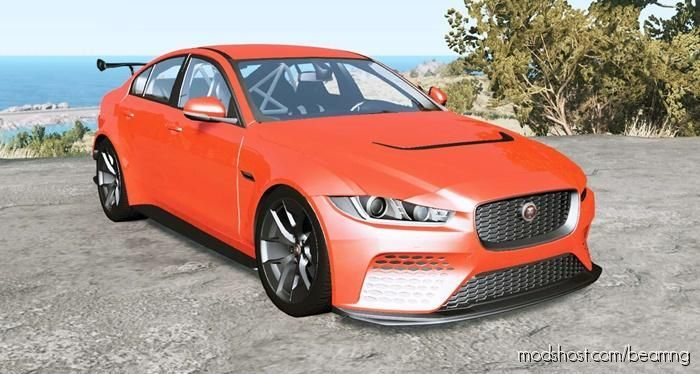 Jaguar XE SV Project 8 Touring 2019 for BeamNG.drive