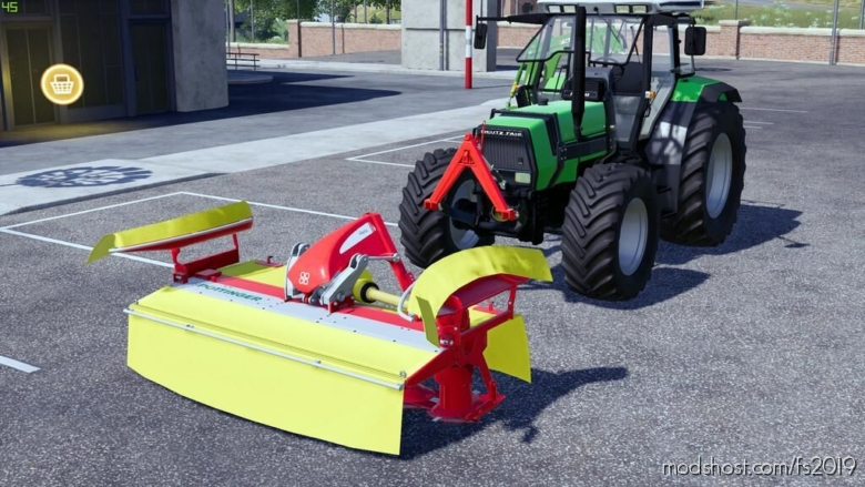 Poettinger Novacat Classic 301 for Farming Simulator 19