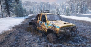 Nissan Patrol GQ V1.0.3 for SnowRunner