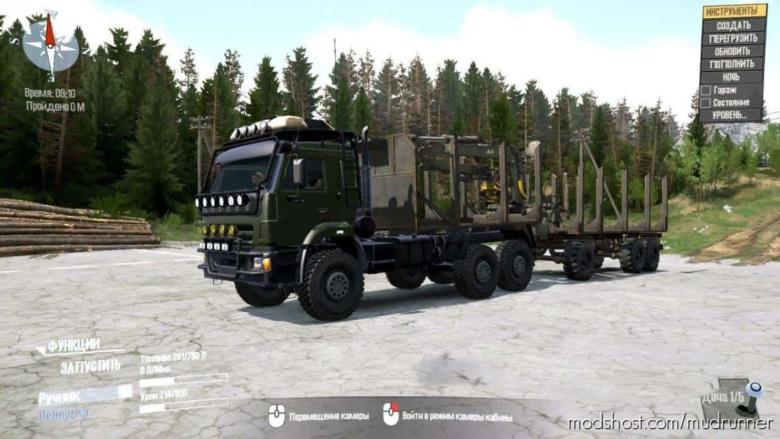 Kamaz 44118 Truck V08.09.20 for MudRunner