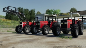 Massey Ferguson 390 for Farming Simulator 19