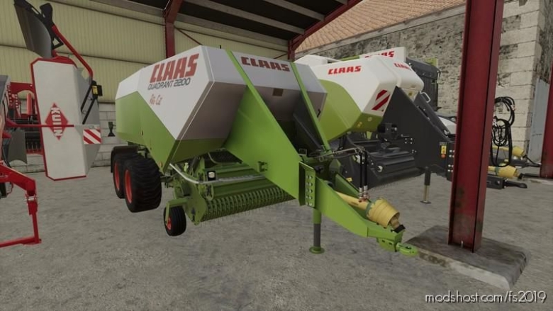 Claas Quadrant 2200 RC V0.9.2 for Farming Simulator 19