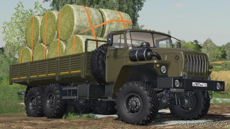Ural 4320/4320-60 Flatbed for Farming Simulator 19