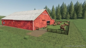 Lone OAK COW Husbandry for Farming Simulator 19