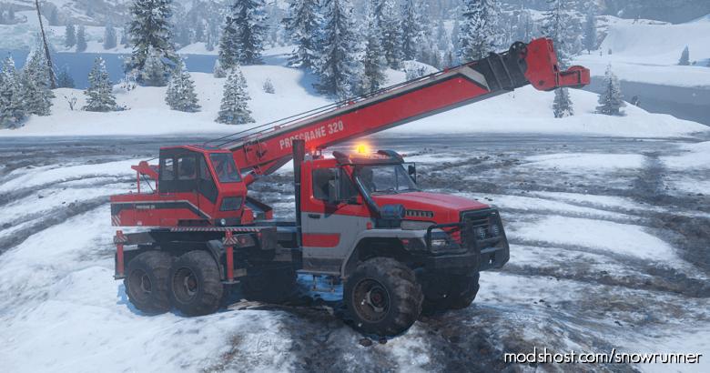 """Enhanced Voron Grad """"Workhorse"""" M181 V1.1.1 for SnowRunner"""