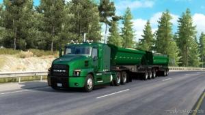 The Midland B-Train Dump Trailer Ownable [1.38] for American Truck Simulator
