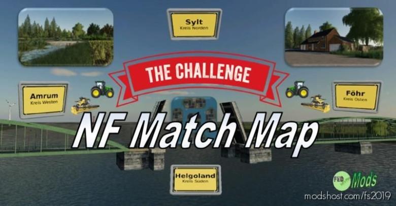 NF Match Map 4X V3.1.0.0 for Farming Simulator 19