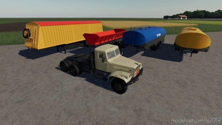 Kraz-258 V2.0 for Farming Simulator 19