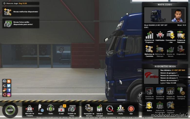 Profile Mapa Ceibo V1.3 [1.38] for Euro Truck Simulator 2