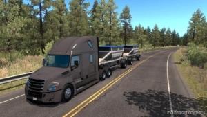 Multiple Trailers In Traffic [1.38.X] for American Truck Simulator