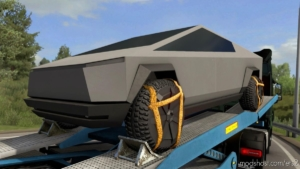 Cybertruck Cargo 4K for Euro Truck Simulator 2