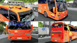 Busstar 360 4×2 [1.38] for Euro Truck Simulator 2
