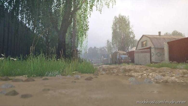 Ural 10: Village Map for MudRunner