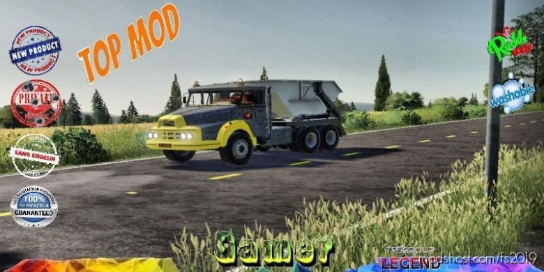 Unic Modul Benne V2.0 for Farming Simulator 19