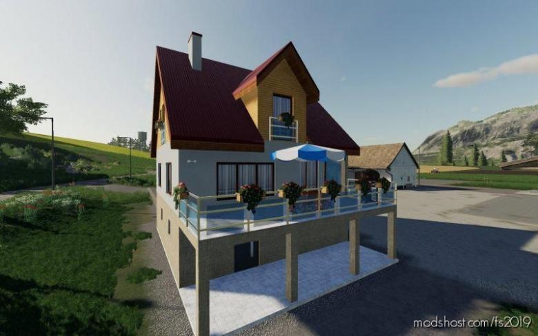 NEW Farmhouse for Farming Simulator 19