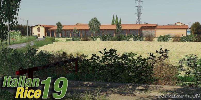 Italian Rice – Reis – Riso – V3.0 for Farming Simulator 19
