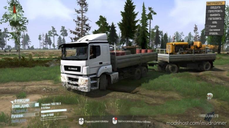 Kamaz NEO Truck for MudRunner