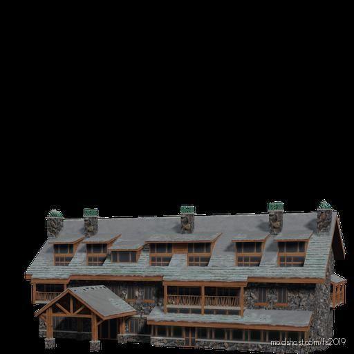 Brick Hotel for Farming Simulator 19