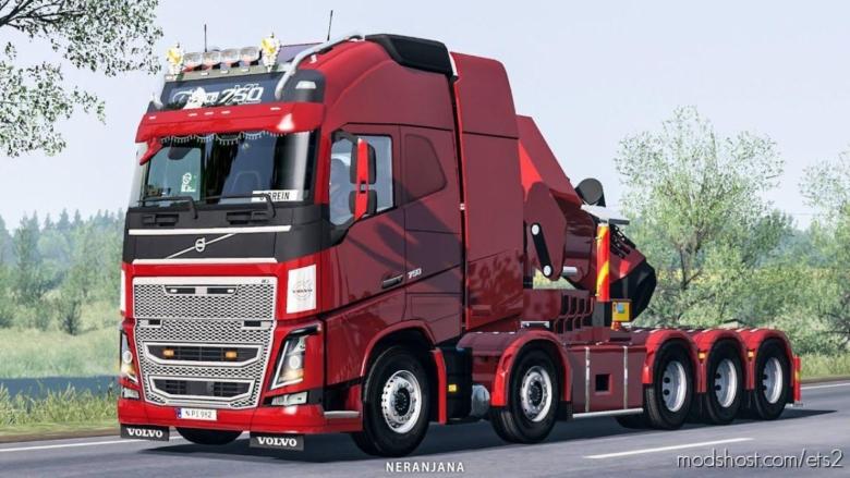 Volvo FH16 2012 Mega Mod By Rpie V1.38.1.3SR1 for Euro Truck Simulator 2