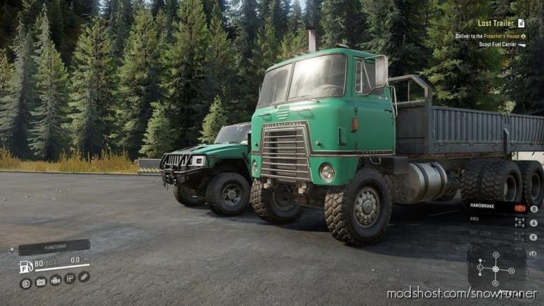 International Transtar 4070X V1.1 for SnowRunner