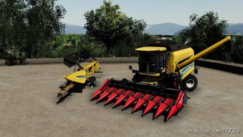 NEW Holland TC5.90 Pack for Farming Simulator 19