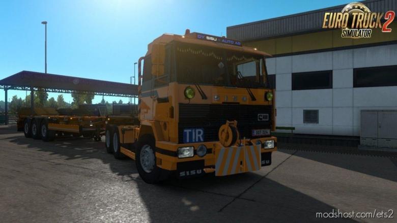 Sisu M-Series By XBS V1.4 [1.38] for Euro Truck Simulator 2