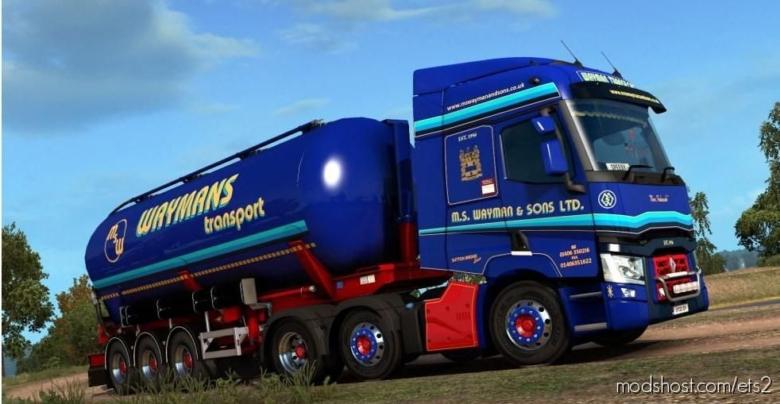 Renault T – Waymans Transport for Euro Truck Simulator 2