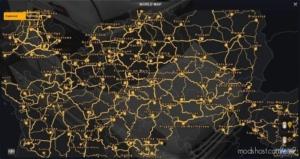100% Explored Roads [1.38] for Euro Truck Simulator 2