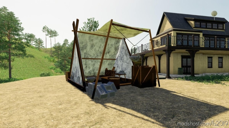 Celtictent for Farming Simulator 19