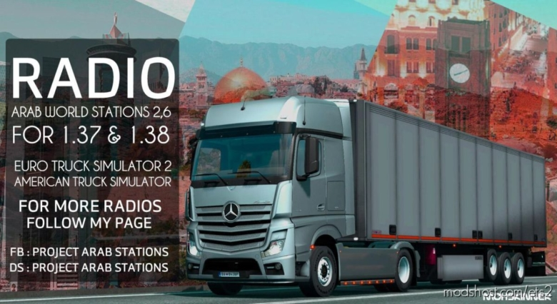 Project Arab Stations – Arab World Stations V2.6 for Euro Truck Simulator 2